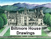 Pen & Ink Drawings of Biltmore Estate, by Lee James Pantas