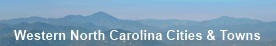Western North Carolina Cities & Towns