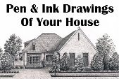 House Portraits by acclaimed NC Pen & Ink Artist Lee James Pantas