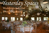Yesterday Spaces -Asheville NC Weddings & Social Event Facilities