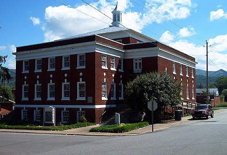 Cultural Arts Center, home of the Andrews Art Museum, Andrews NC