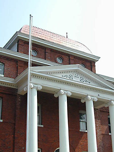 Historic 1904 Ashe County Courthouse